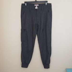 Anthropologie Babakul wool blend cargo joggers